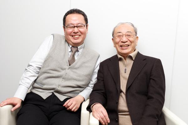 會川さんと辻真先さんの対談、山...